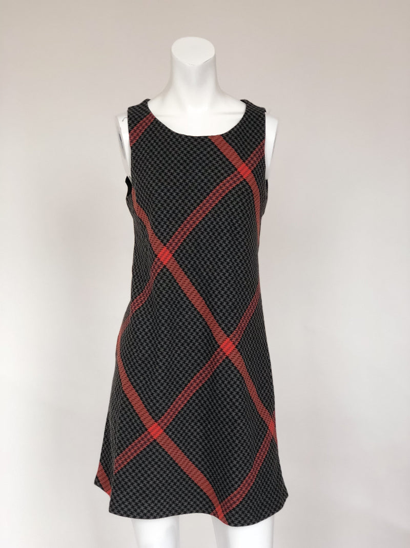 Promod Women's plaid bodycon dress (small)
