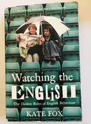 Watching The English by Kate Fox