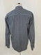Dockers San Francicsco Men's Grey Striped Dress Shirt (Large)