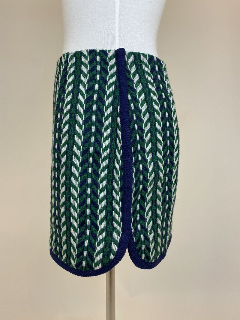 English Factory Woven Green Skirt (Small) - new with tag