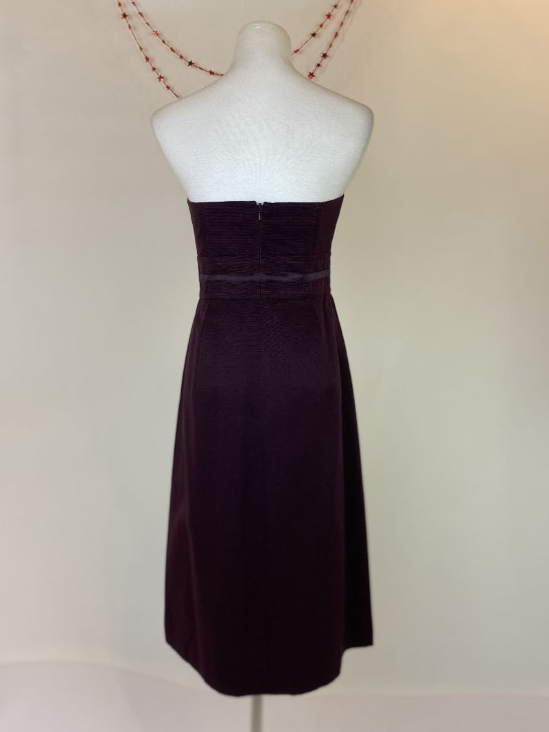 Marks & Spencers Autograph purple dress (medium)