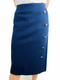 Ralph Lauren Polo Women's Navy Aline Skirt (Small)
