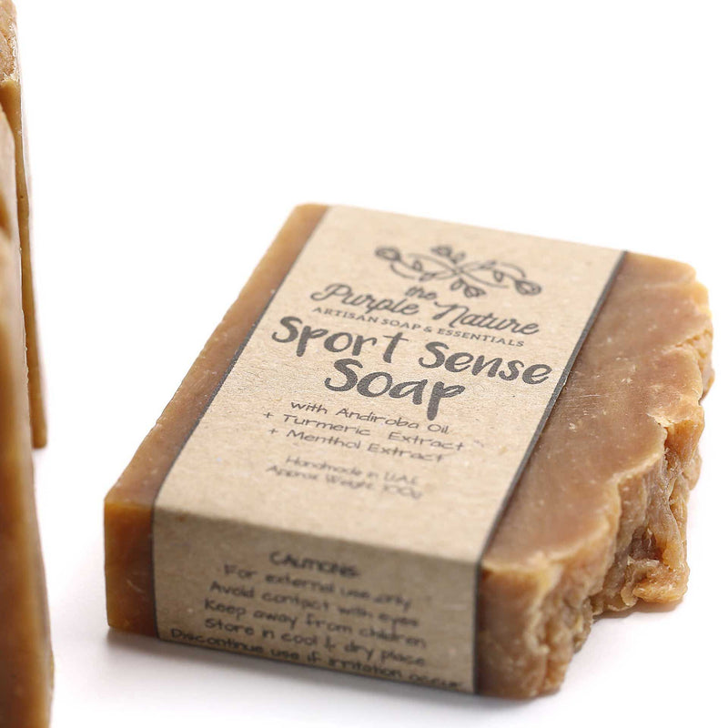 Sport Zen Soap by The Purple Nature (NEW)