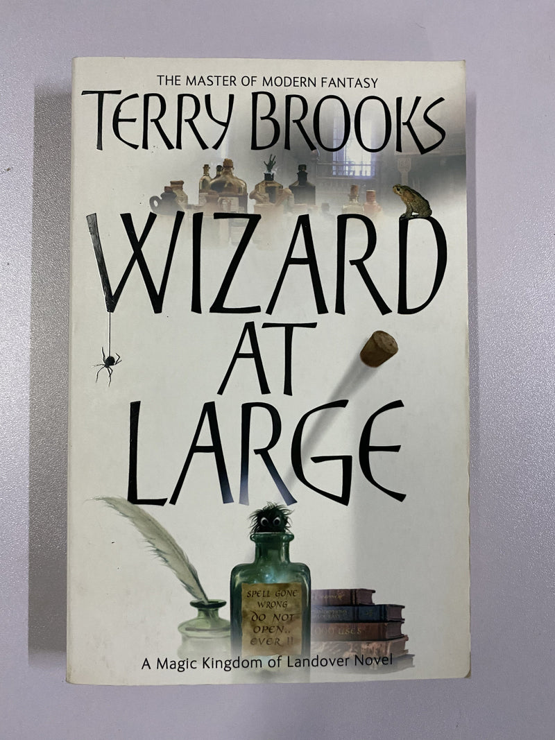 Wizard At Large by Terry Brooks (Magic Kingdom of Landover: Book 03)