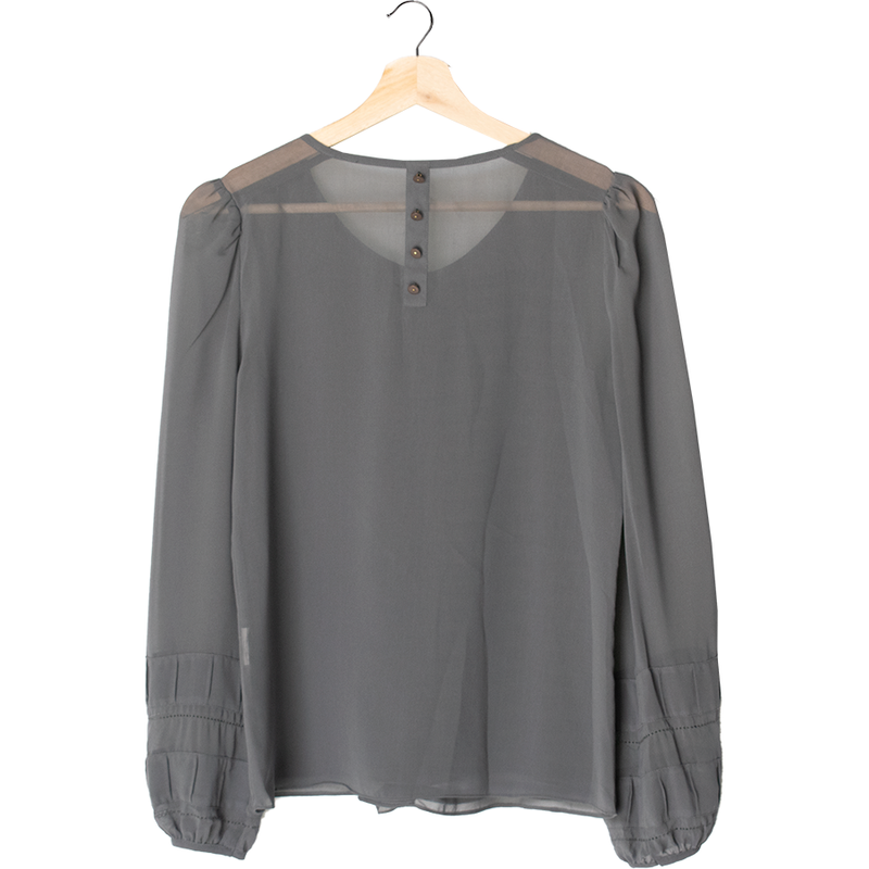 Vero Moda Long Sleeve Blouse (XS) - ThriftforGood