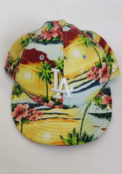 NEW ERA 59FIFTY LA Floral Cap (6 7/8 or 54.9cm)