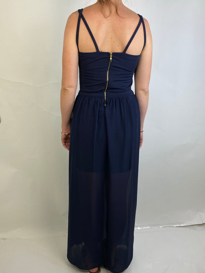 TFJ Original Brand Navy Maxi dress (Small)