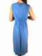 Mango Womens Blue Dress (Small)