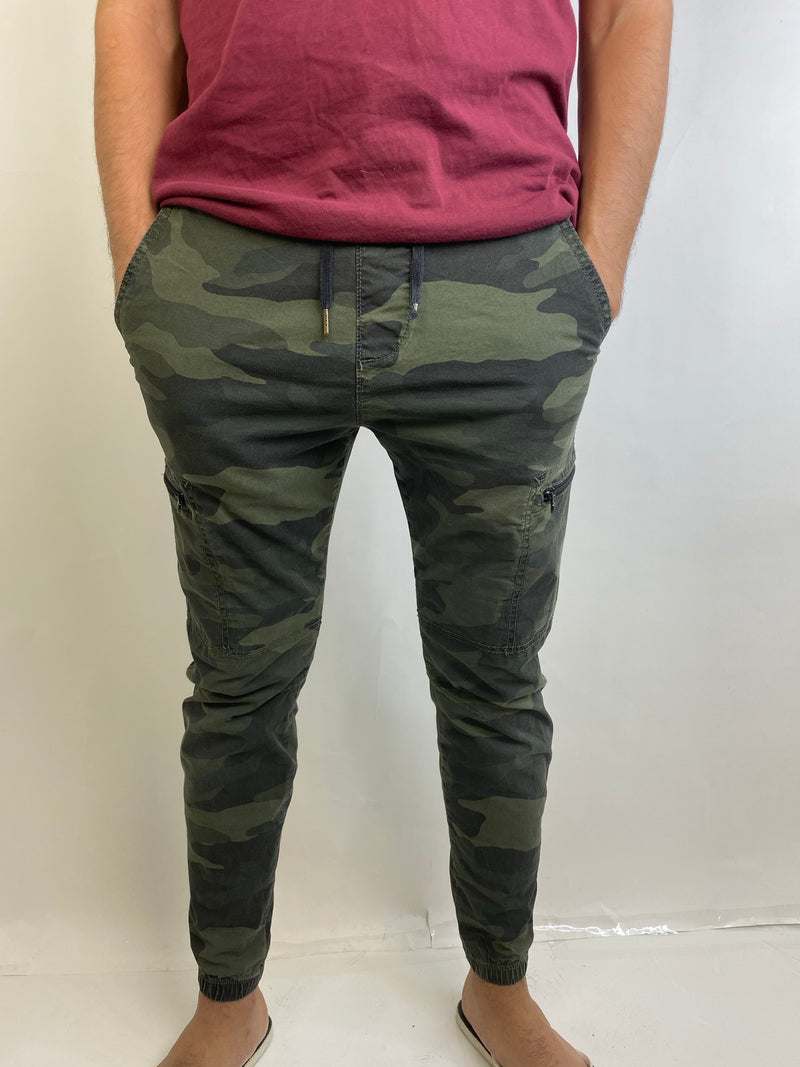 Hollister Unisex Army Style Cargo Pants (Xsmall)