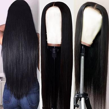 360 Lace Frontal Wigs Brazilian Straight Human Hair Wigs For Black Women 100% virgin hair