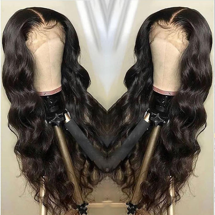 Brazilian Body Wave Wig Pre Plucked Lace Wig Remy Hair Wig Lady Wig