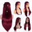 Super long  13x6 Lace Front Wig 150% density remy hair