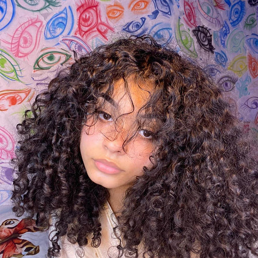 (🔥HOT)2020 Latest Popular Curly Hair With Bangs
