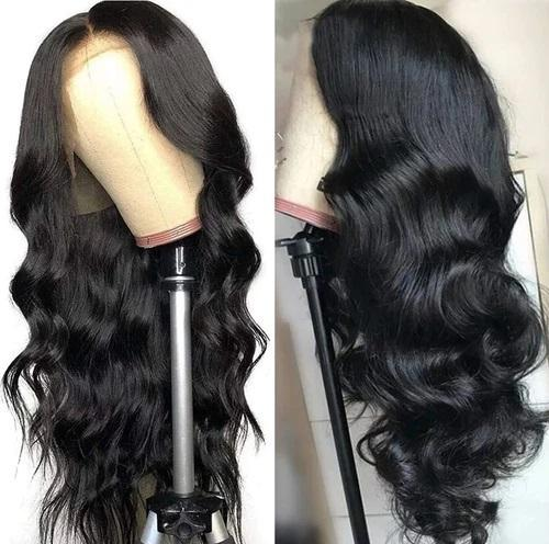 Glueless Lace Front Wigs Fashion Lady Pre Plucked Hairlines Human Hair Wigs Body Wave For Black Women Invisible Wigs