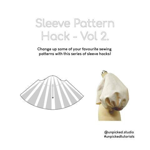 Sleeve Pattern Hack - Vol 2