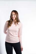 Load image into Gallery viewer, HANNAH CHILDS ABBY LONG SLEEVE BAMBOO TEE