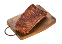 Load image into Gallery viewer, Smokey BBQ St Louis Cut Ribs Plus Free Sauce