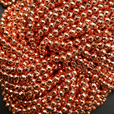 Rose Gold Beads
