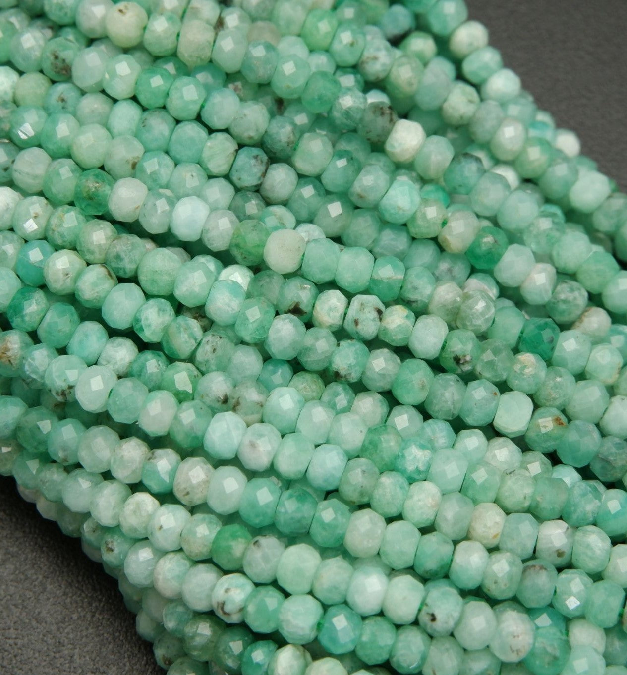May Birthstone Beads
