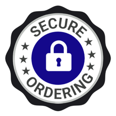 Order with confidence using secure checkout.