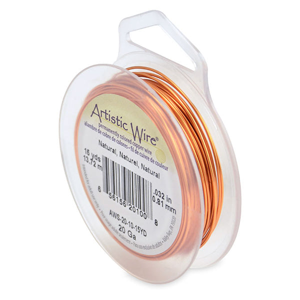 Natural Copper Color 20 Gauge Artistic Wire