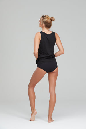 PJ Singlet Set Black