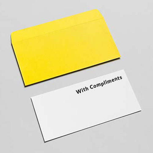 Compliment Slips on 120gsm