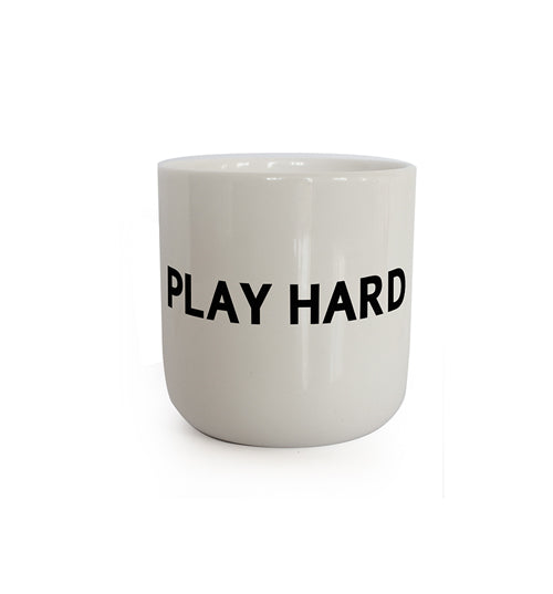In real life - PLAY HARD (Mug)