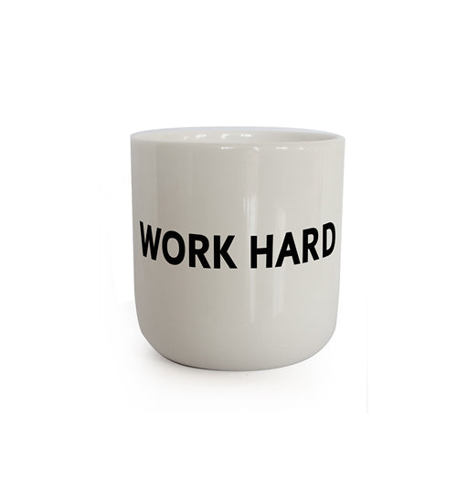 In real life - WORK HARD (Mug)