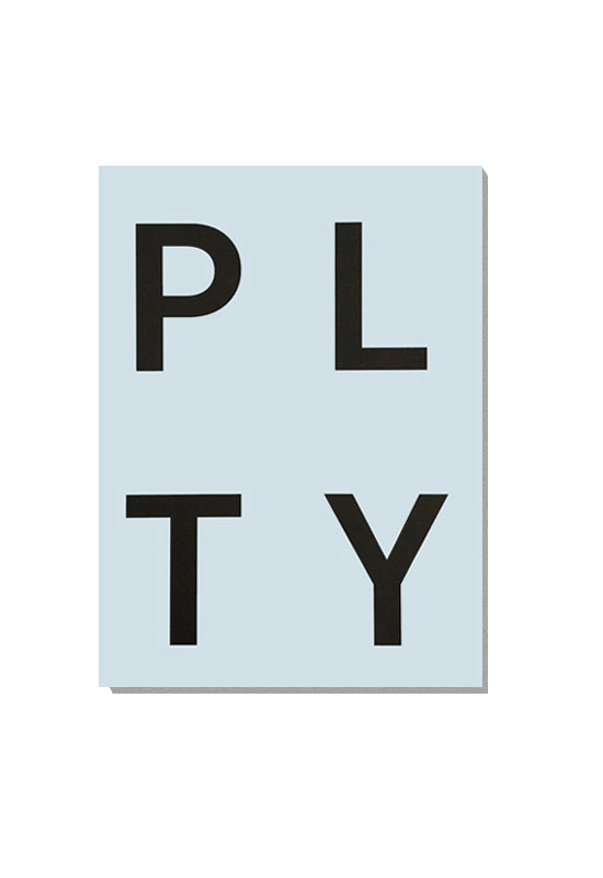 PLTY Notepad - Light Blue