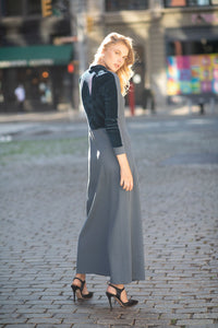 The Velvet Variation Maxi - Blue/Turquoise