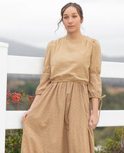 Load image into Gallery viewer, Eyelet Overlay Maxi - Tan