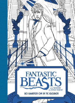 Fantastic Beasts and Where to Find Them: 20 kaarten om in te kleuren