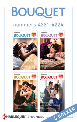 Bouquet e-bundel nummers 4221 - 4224 (4-in-1)