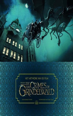 Het artwork van de film Fantastic Beasts: The Crimes of Grindelwald
