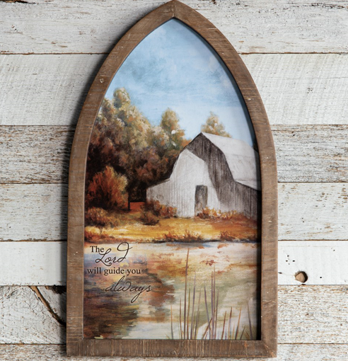 Wall Hanging - Framed Arch Print