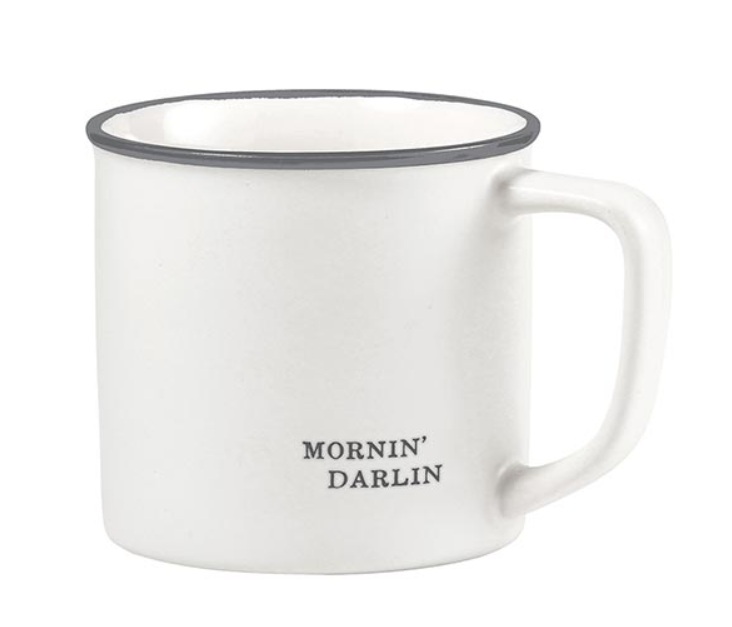 Kitchenware - Face to Face Coffee Mug - Mornin' Darlin