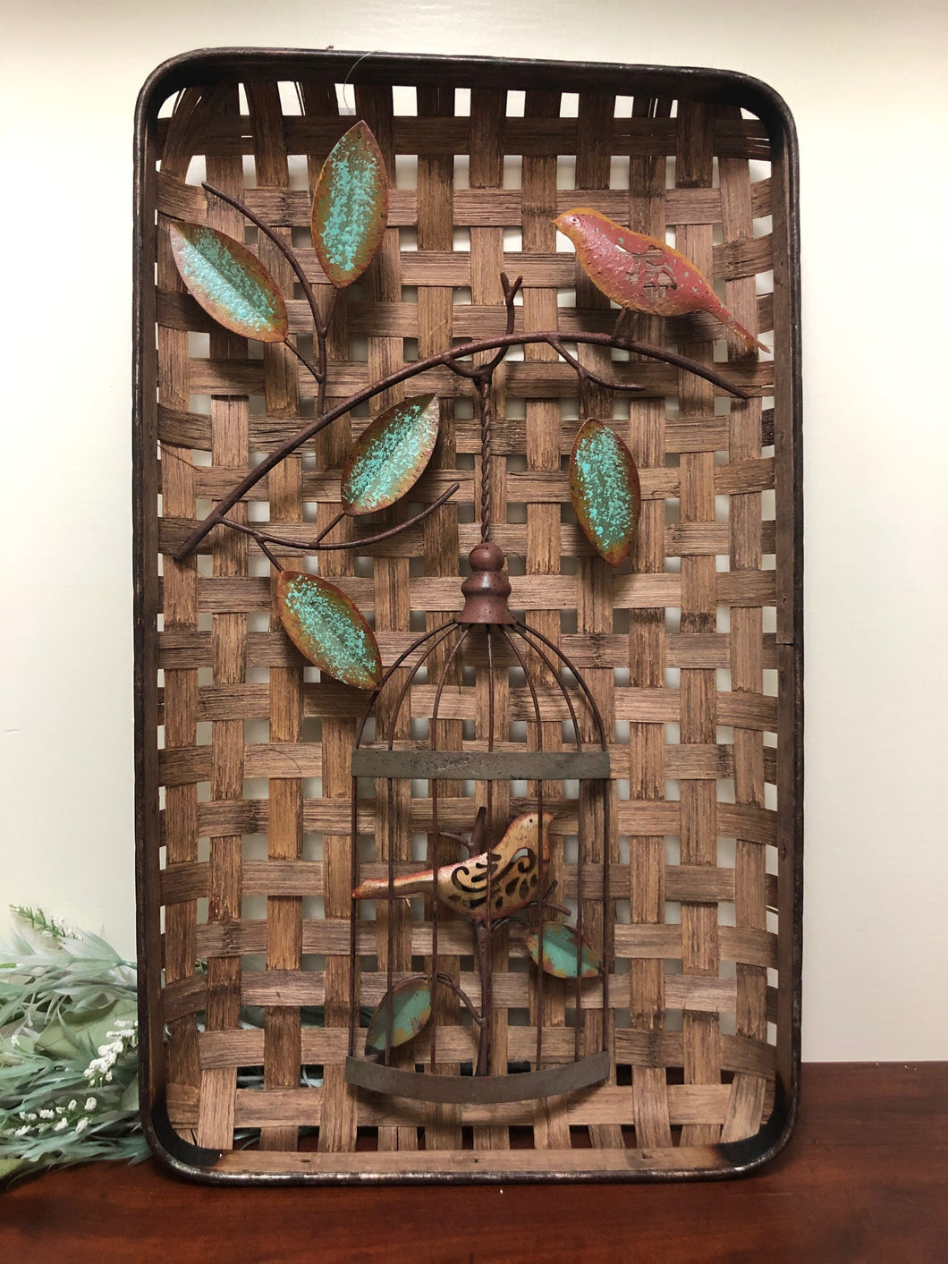 Wall Hanging - Bird Cage Wall Decor
