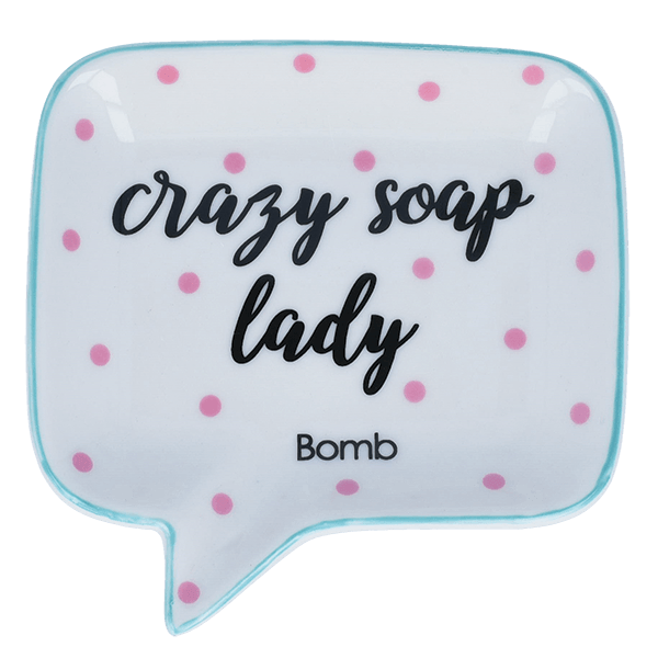 Gifts - Crazy Soap Lady Soap Dish