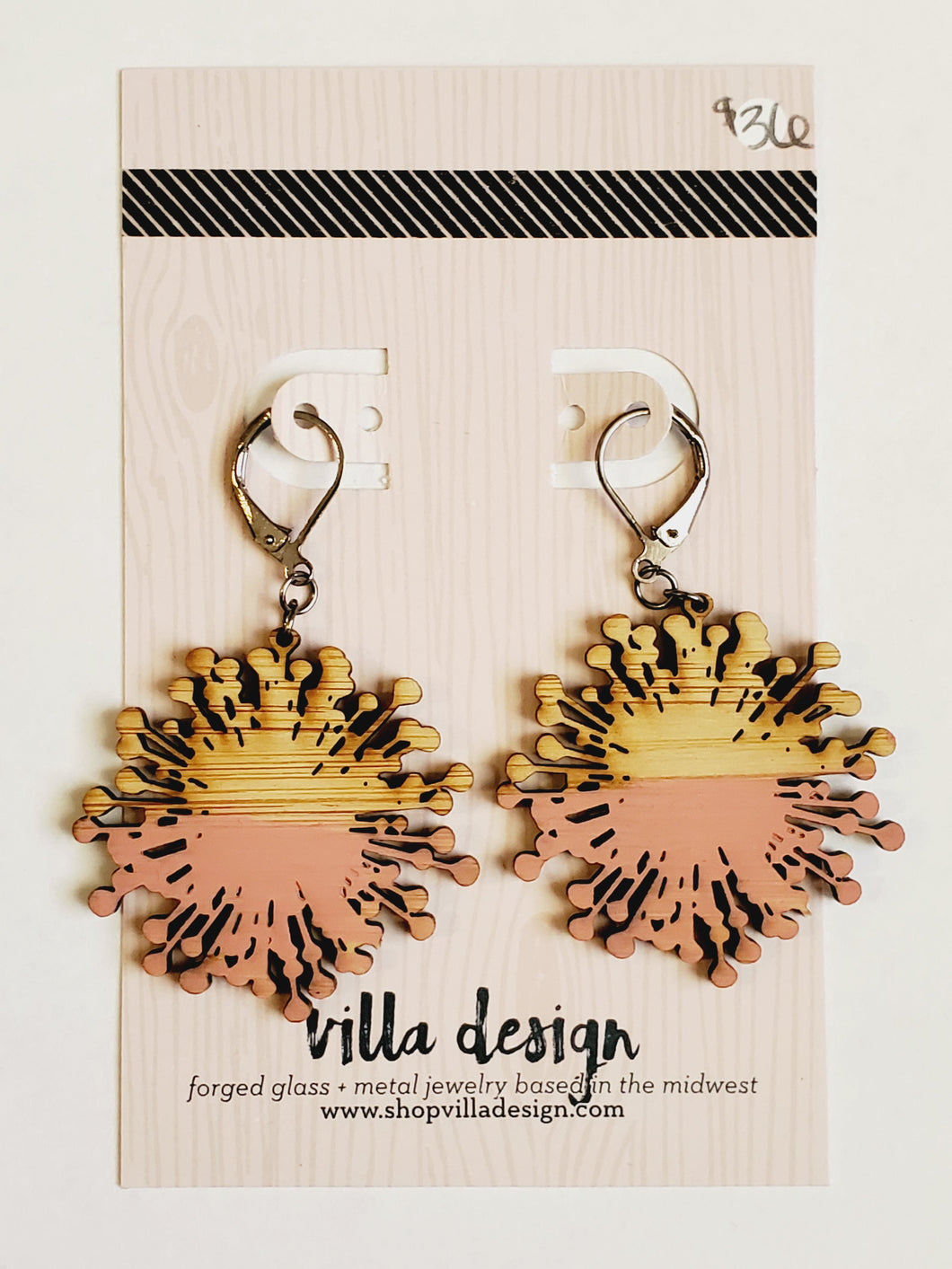 Dandelion Burst Earrings