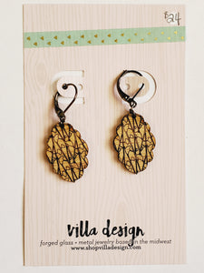 Leafy Lattice Earrings