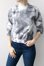 Load image into Gallery viewer, Marble Fleece Crew