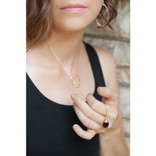 Load image into Gallery viewer, Black Onyx Lariat Necklace