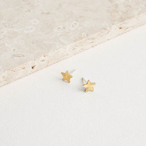 Tiny Starburst Star Studs