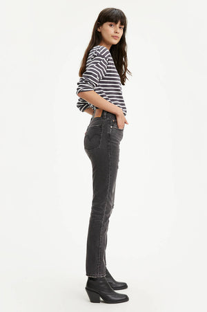 Levi's 501 Skinny With Destruction - honey