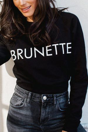 The Brunette Classic Crewneck