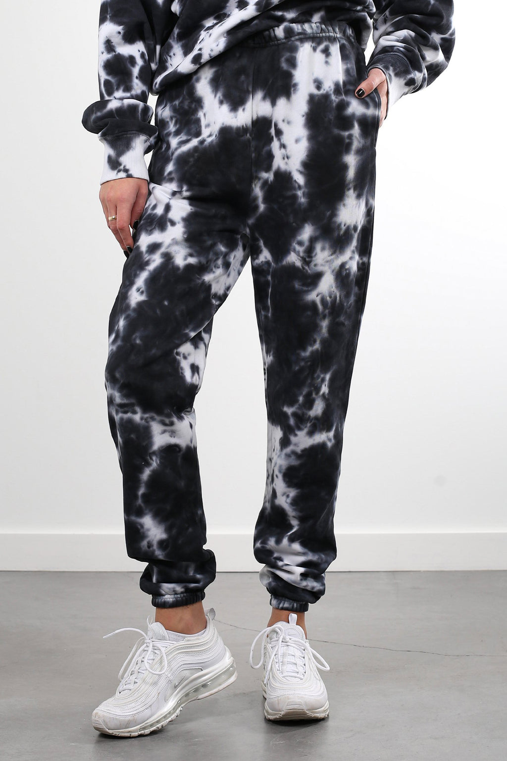 Marble Tie Dye Best Friend High Rise Joggers