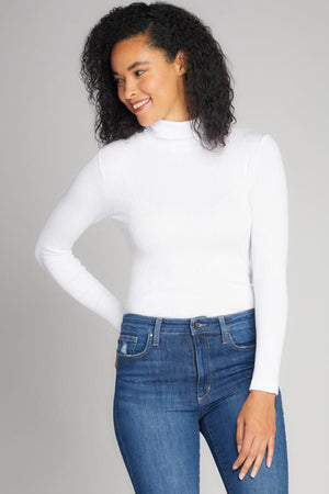 Long Sleeve Ribbed Turtleneck