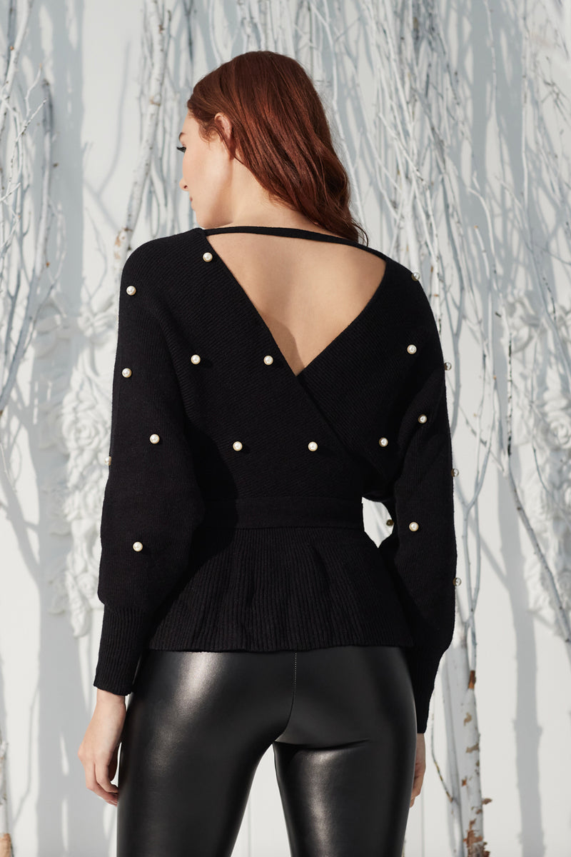 Melissa Pearl Applique Sweater