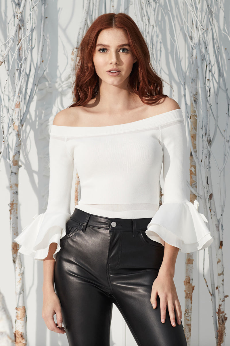 Emily Off-The-Shoulder Knit Top